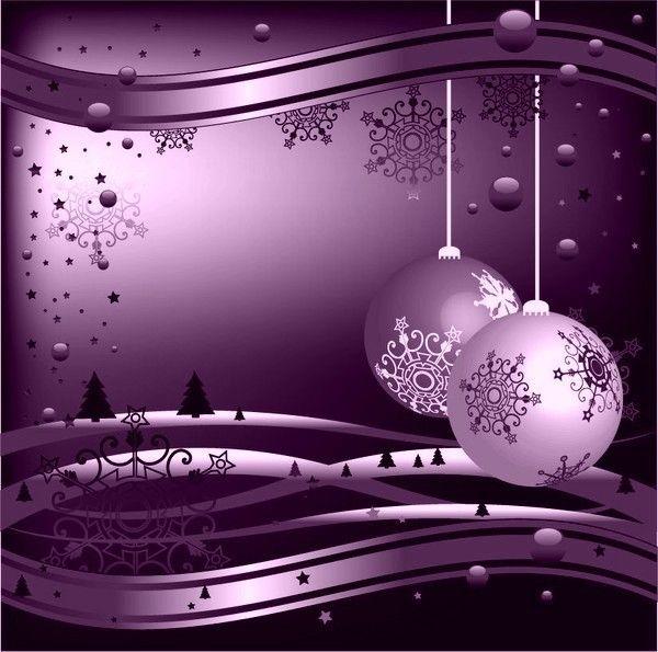 Boule De Noel Violette #15: Noël Boules. Boules Violettes   HomeEzy