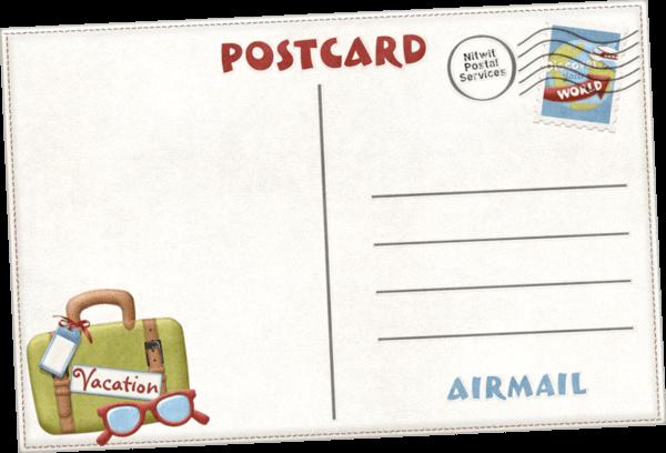 carte postale dessin