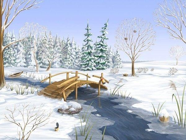 paysages hiver page 2. Black Bedroom Furniture Sets. Home Design Ideas