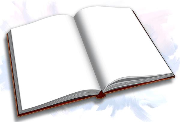 Картинки открытая книга на прозрачном фоне