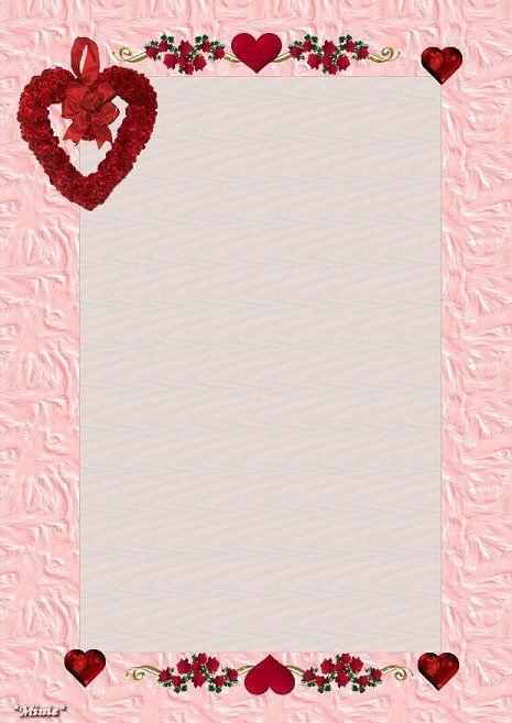 Papiers a lettres page 10 - Lettre saint valentin pour son cheri ...